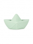 Oli&Carol närimisrõngas/vannipaat Origami Boat Mint