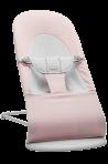 BabyBjörn Balance Soft lamamistool Light Pink/Grey Jersey, helehall raam