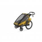 Thule lastekäru Chariot Sport 1- Spectra Yellow on Black