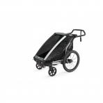 Thule lastekäru Chariot Lite 1 Agave- Black
