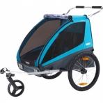 Thule lastekäru Chariot Coaster XT- Blue