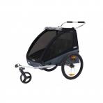 Thule lastekäru Chariot Coaster XT- Black