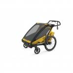 Thule lastekäru Chariot Sport 2- Spectra Yellow on Black