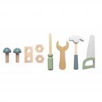 JaBaDaBaDo puidust tööriistad ja vöö