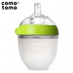 Comotomo lutipudel Anti-Colic 150ml, silikonist,roheline