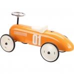 Vilac metallist pealeistutav auto oranz Vintage