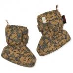 Konges Slojd snow boot Nohr, soojad papud- Winter Leaves Mustard