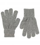 Celavi Magic Finger Gloves kindad, Grey Melange- 3/6a