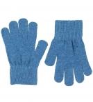 Celavi Magic Finger Gloves kindad, Dusty Blue- 3/6a