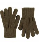 Celavi Magic Finger Gloves kindad, Military Olive- 3/6a