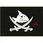 Kapten Sharky taldrikualus lauamatt Piraadilipp