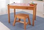KidKraft puidust kunstilaud ja tool