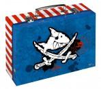 Kapten Sharky kartongist kohver