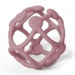 BabyOno Ortho silikoonist närimisrõngas roosa