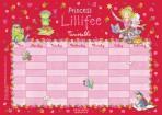 Printess Lillifee TUNNIPLAAN