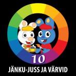 Jänku-Jussi värvide vihik+DVD