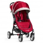 Baby Jogger jalutuskäru City Mini 4W Crimson Grey