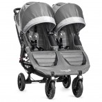 Baby Jogger kaksikute jalutuskäru City Mini GT Steel Grey