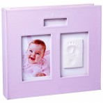 Baby Memory Prints jalajäljega mälestuste album roosa