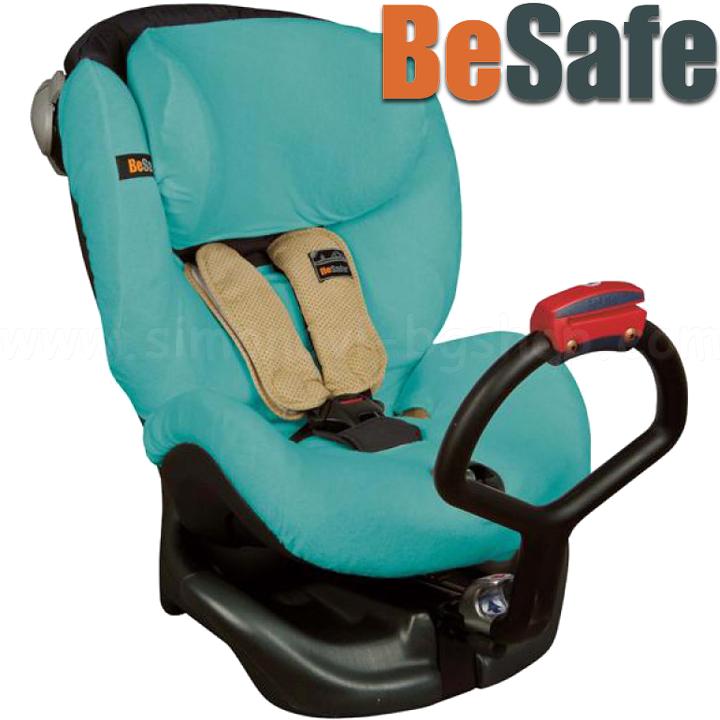BeSafe suvekate turvatoolile X3 Comfort, Combi, iZi Kid türkiis