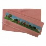 Bradley froteerätik Lotte 4 sõpra 50x70cm roosa