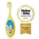 Brush Baby FlossBrush näritava otsaga hambahari vanusele 0-3 eluaastat (värvivalik)