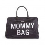 Childhome beebitarvete kott suur Mommy Bag must