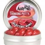 Crazy Aaron tark plastiliin electric sari elektripunane