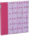 Fotoalbum klassikalise lehega Bambina roosa