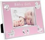 Gainsborough roosa beebi pildiraam Tüdruk