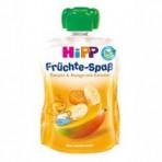 HIPP Puuviljarõõm banaanipüree mango ja porgandiga BIO 6x90g