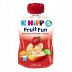 HIPP Puuviljarõõm õunapüree maasikate-banaanidega BIO 6x90g
