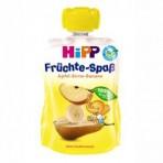 HIPP Puuviljarõõm pirnipüree õunte-banaanidega BIO 6x90g