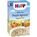 HIPP Virsiku-aprikoosi piimapudrupulber prebiootikumidega BIO 6x250g