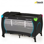 Hauck reisivoodi Sleep n Play Multicolor Black