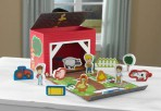 Kidkraft kaasaskantav mängukeskus-Farm