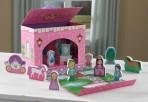 Kidkraft kaasaskantav mängukeskus-Printsess