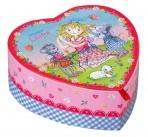 Printsess Lillifee südamekujuline ehtekarp