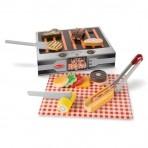 Melissa & Doug  puidus20 puidust grill ja BBQ Set