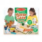 Melissa & Doug hobuse hoolduskomplekt