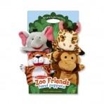 Melissa & Doug käsinukukomplekt Loomaaiasõbrad