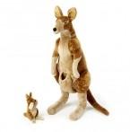 Melissa & Doug suur pehme Känguru ja Joey