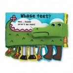 Melissa & Doug esimene arendav tegelusraamat Kelle jalad?