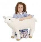 Melissa & Doug suur pehme Lammas