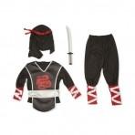 Melissa & Doug ninja kostüümikomplekt