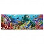 Melissa & Doug 200-osaline põrandapusle Veealune oaas