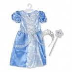 Melissa & Doug Kuningliku printsessi  kostüümikomplekt
