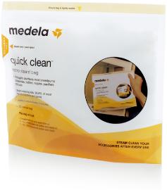 Medela steriliseerimise kott mikrolaineahjus kasutamiseks Quick Clean
