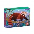 Mudpuppy mini pusle 48-osaline Red Panda
