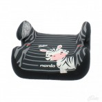 NANIA turvaiste-istumisalus Topo Comfort Zebra